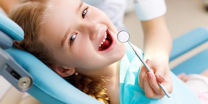 Profesionálna dentálna hygiena pre deti