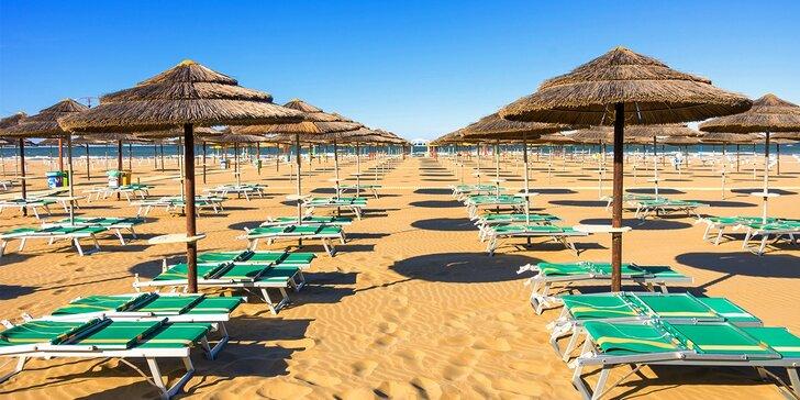 Letná dovolenka v Taliansku, 20 m od pláže, až 2 deti ZDARMA!