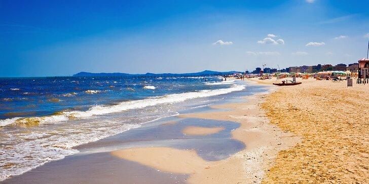 Letná dovolenka v talianskom RIMINI, 50 m od pláže, 1 dieťa ZDARMA!