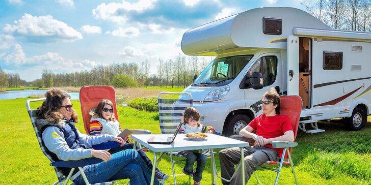 Ušetrite za hotely a prenajmite si karavan na pravú dobrodružnú dovolenku!