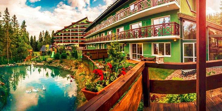 Nezabudnuteľná letná wellness dovolenka v Nezábudke*** s polpenziou alebo ALL INCLUSIVE, Vysoké Tatry, platnosť do konca roka!