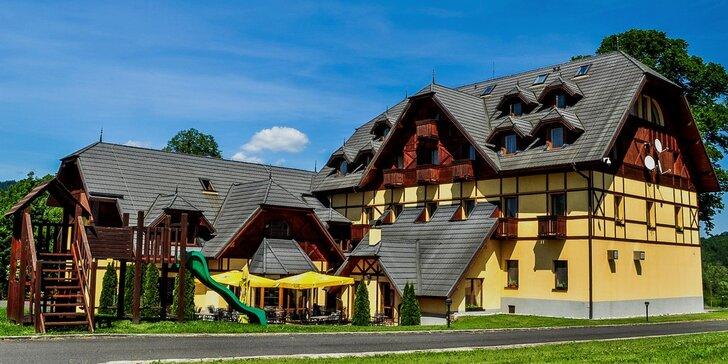 Pravá slovenská rodinná dovolenka s polpenziou alebo ALL INC v krásnych Pieninách s procedúrou aj aktivitami.