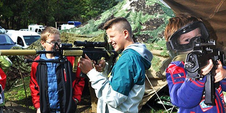 Airsoftový akčný tábor pre deti a mládež na 7 dní