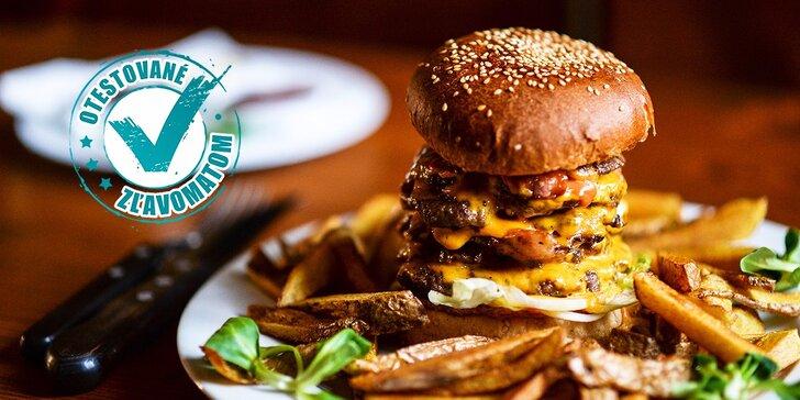 Najchutnejšie hamburgre v Starom Meste - v ponuke aj 800 g macek!