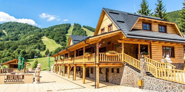 Aktívna rodinná dovolenka v nových komfortných apartmánoch v prekrásnom horskom prostredí v Malej Fatre
