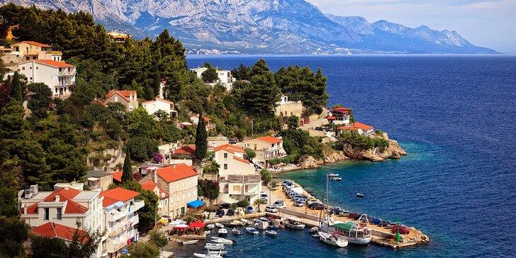 Slnečná dovolenka vo Vila Mare v obľúbenom Tučepi, Chorvátsko