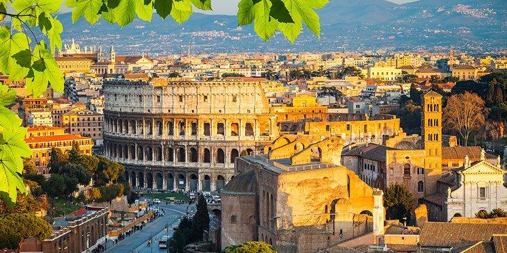 Májový Rím s kvetinovou záplavou azaliek na španielskych schodov, 5-dňový poznávací zájazd so sprievodcom, ubytovaním a raňajkami