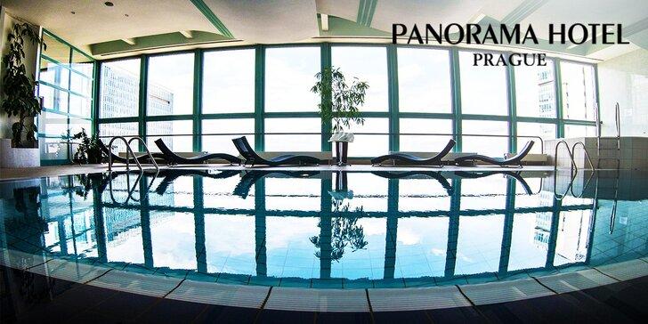 Exkluzívne ubytovanie a wellness v Panorama Hotel Prague****