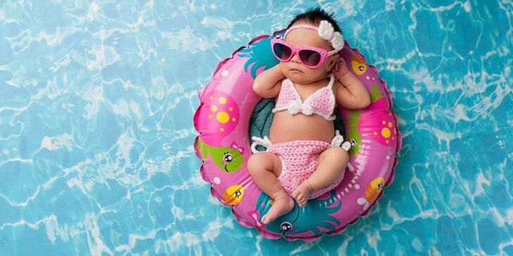 """Začiatočnícky kurz """"plávania"""" detí vo veku od 4 mesiacov až 4 rokov"""