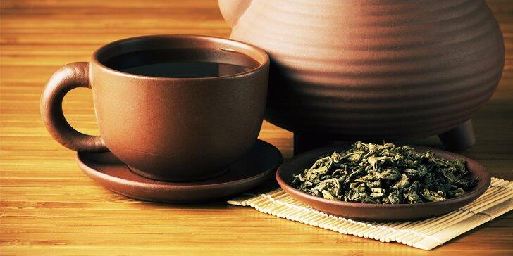 Ochutnávka troch druhov čajov