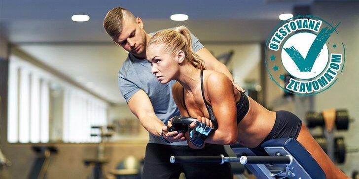 1 alebo 5 tréningov s osobným trénerom na Cvičisku, konzultácia s výživovým poradcom a diagnostika pohybového aparátu