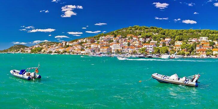 Chorvátska dovolenka pre 2 osoby na 8 dní aj s polpenziou v Hoteli Borovnik***