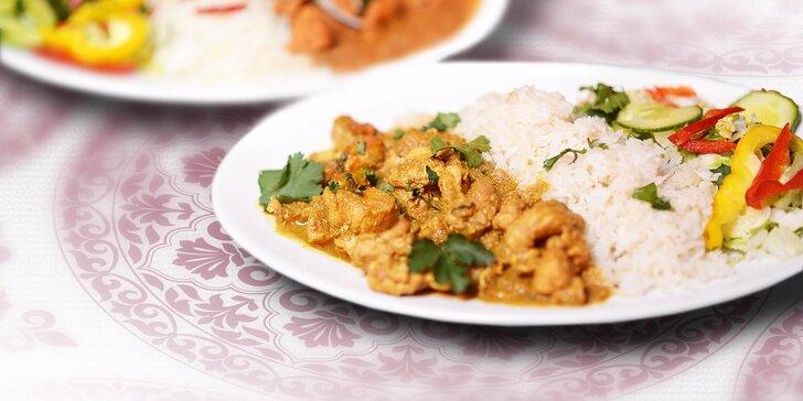 Indická večera podľa vášho výberu! Vyskladajte si vlastné menu v Royal Kashmir