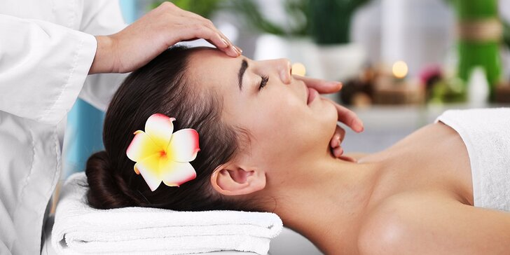 Vitamínové ošetrenie pleti s diamantovým sérom a masážou tváre, krku a dekoltu