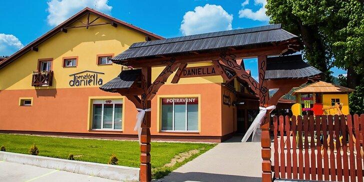 Pohoda v novootvorenom Penzióne Daniella, Pieniny