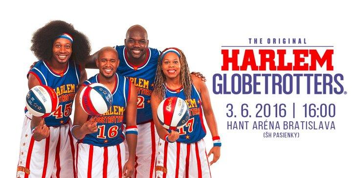 Vstup pre jednu osobu na basketbalovú šou Harlem Globetrotters