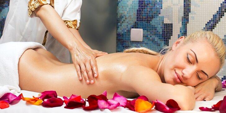 Aromaterapeutická masáž chrbta alebo tváre a antistresové masáže (nielen) pre manažérov