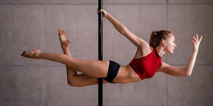 Tanec pri tyči: skúšobná hodina alebo permanentka na 4 hodiny