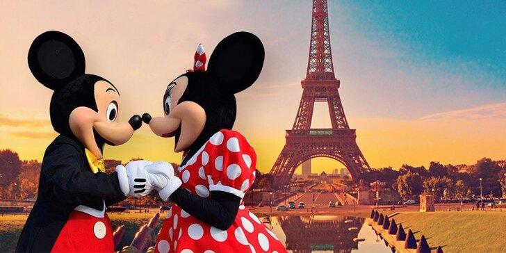 Rozprávkový zájazd do romantického Paríža a jedinečného zábavného parku Disneyland