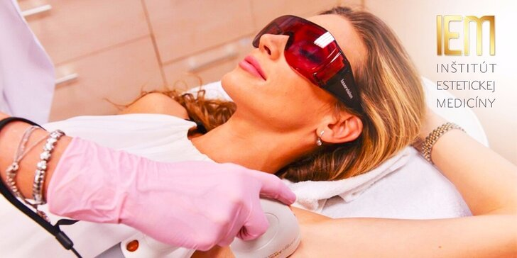 Bezbolestná epilácia diódovým laserom Lumenis LightSheer