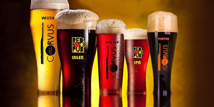 Poctivé pivo v RED NOSE PUB, ktorý vás dostane svojou širokou pivnou ponukou!