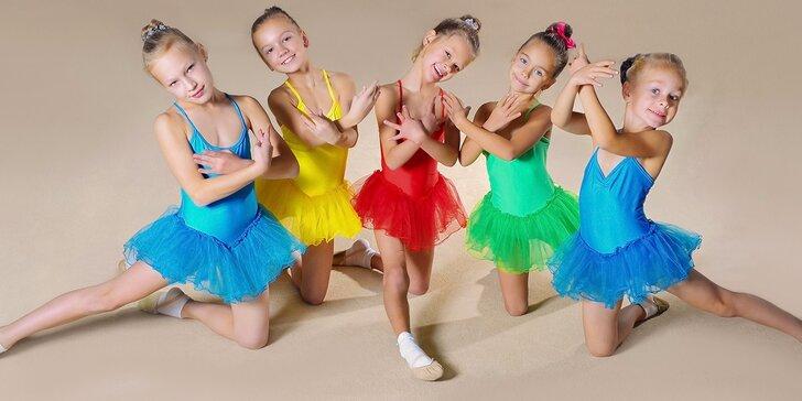 Denný tanečný tábor pre deti od 4 do 14 rokov. Leto 2016!
