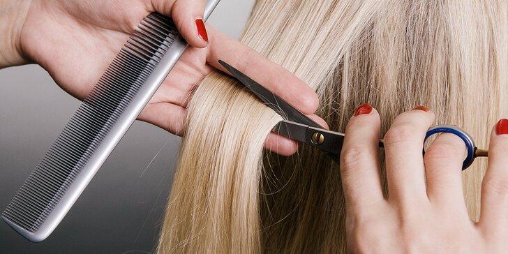 Regenerácia vlasov, strihanie, farbenie alebo melír
