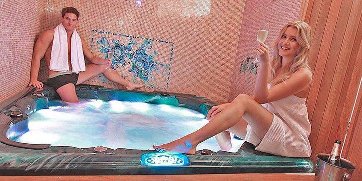 Romantika na víkend pre dvoch v 4 * hoteli Zlatý Lev s luxusným wellness