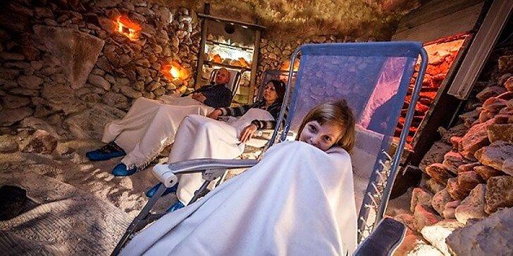 Ozdravné pobyty v soľnej jaskyni