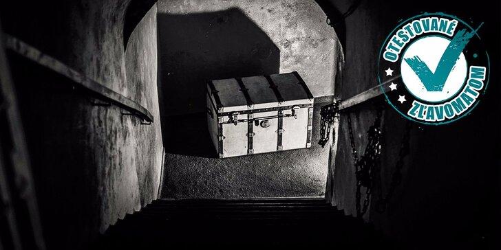 Escape room v bratislavských uliciach - až 210 minút nervydrásajúceho napätia!