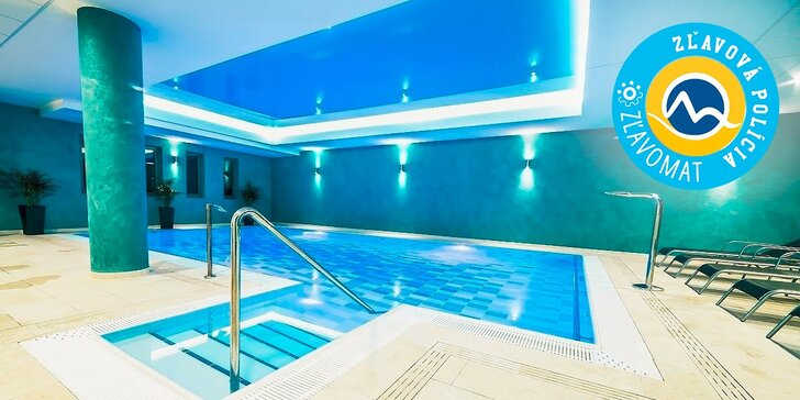 Wellness & Spa pobyt v hoteli PANORAMA**** v centre kúpeľneho mesta Trenčianske Teplice. Jedno dieťa do 15 r. zadarmo!