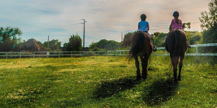 Detský denný tábor pre malých milovníkov koní alebo super opekačka pre 10 ľudí
