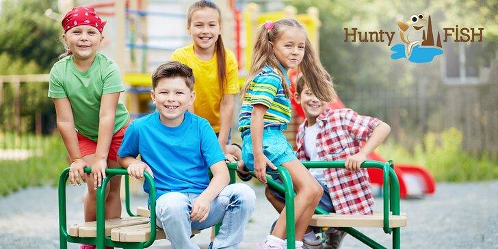Vstup pre rodinu zdarma! Deň detí v HuntyFish. Zľavnené konzumné, len v Zľavomate!