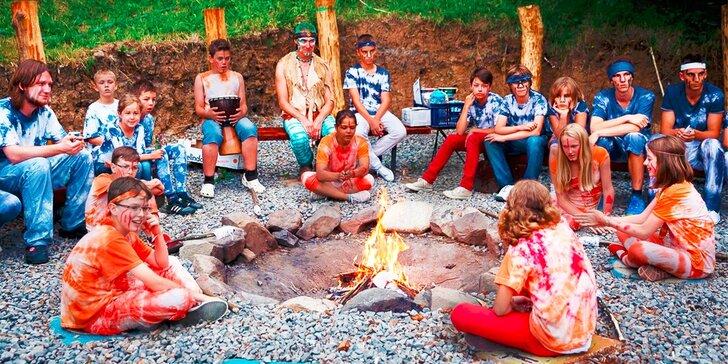 Detský letný tábor - 6 alebo 8 dní plných dobrodružstiev a napätia!