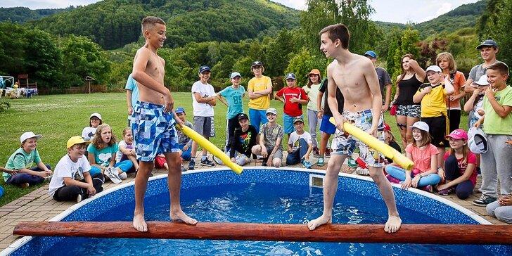 Tri bláznivé detské tábory pre deti i tínedžerov!