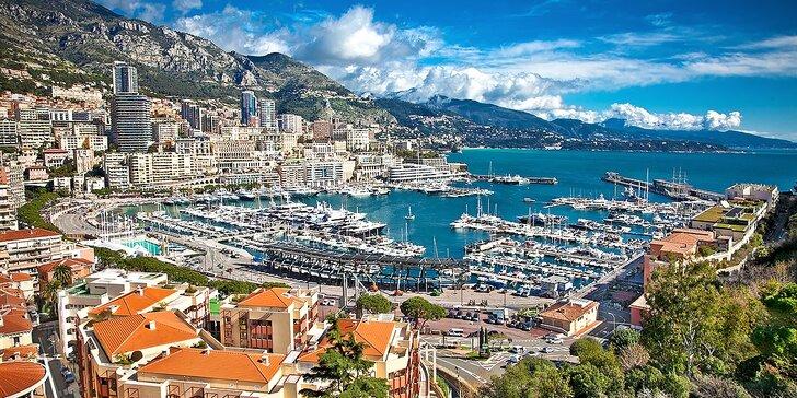 Nechajte sa zlákať na čarovné Côte d'Azur, Nice, Cannes, Monaco a Saint Tropez na slnečnej Francúzskej Riviére