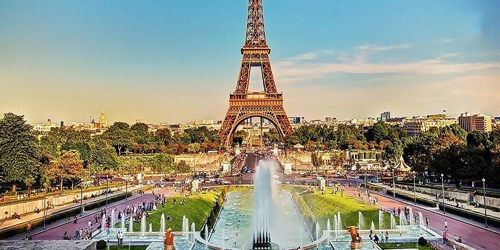 Spoznajte unikátne pamiatky Paríža so skúseným sprievodcom a s kvalitným hotelovým ubytovaním