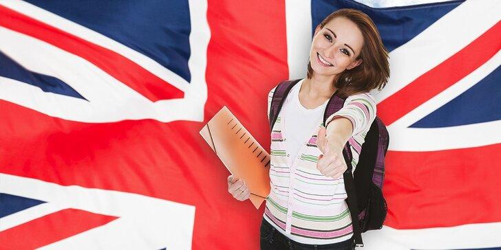 2-mesačný konverzačný kurz angličtiny pre začiatočníkov
