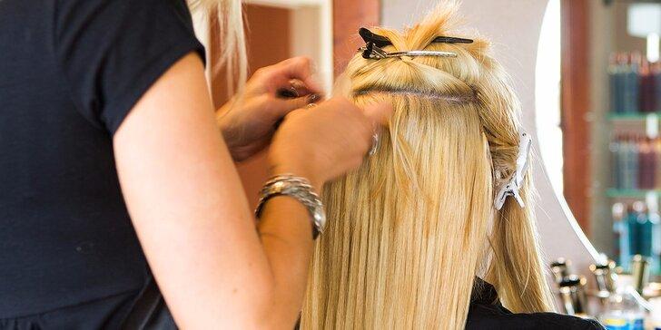 Prepájanie či predlžovanie vlasov keratínovou, eurolocovou alebo microringovou metódou, záruka 2 roky!