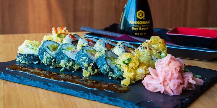 Ochutnajte pravé sushi z pravých rýb s príchuťou pravého Japonska! V ponuke aj denné menu