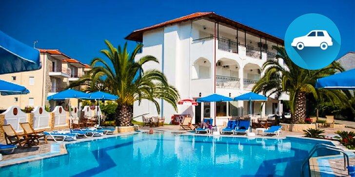 Dovolenka v Grécku na bájnych Chalkidikách v Hoteli Estia** individuálnou dopravou. Dieťa do 12 r. ZADARMO!