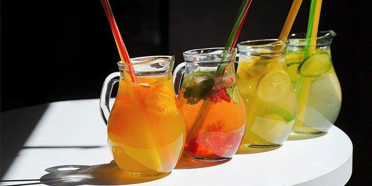 Osviežujúce domáce limonády v Cukrárni Cafe Barcelona