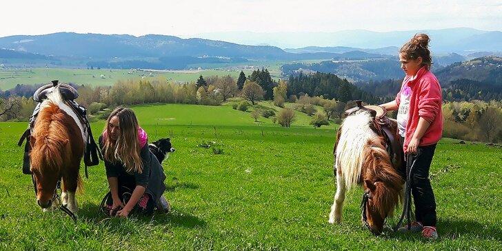 Letný 6 nocový tábor s jazdou na koni a neobmedzeným wellness. Až 7 termínov v Ľubietovej.