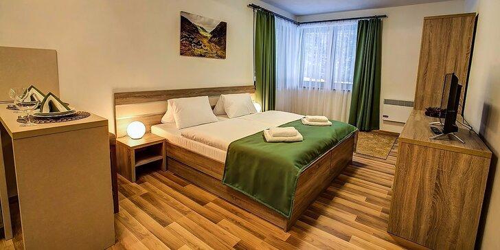 Letná dovolenka v nových, luxusne zariadených apartmánoch v Jasnej pre páry aj rodiny
