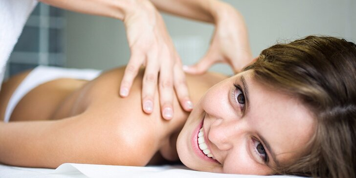Relaxačno - protimigrenózna masáž alebo klasická celotelová masáž aj s bankami (90 min)