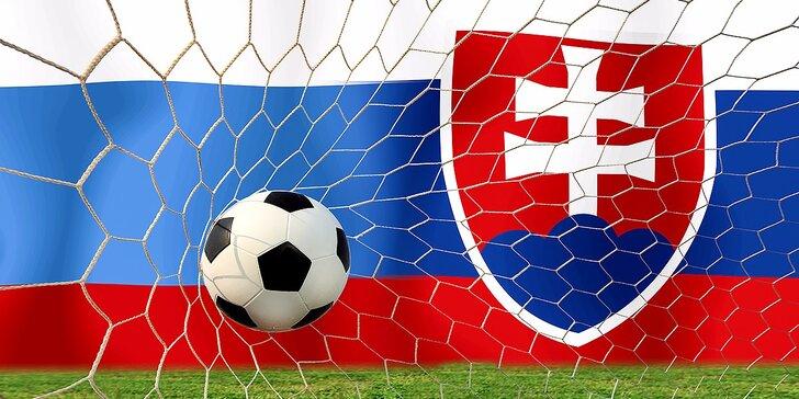 Slovensko - Rusko! Viete, kto vyhrá? Futbalujte s nami! Máme pre vás kredity!