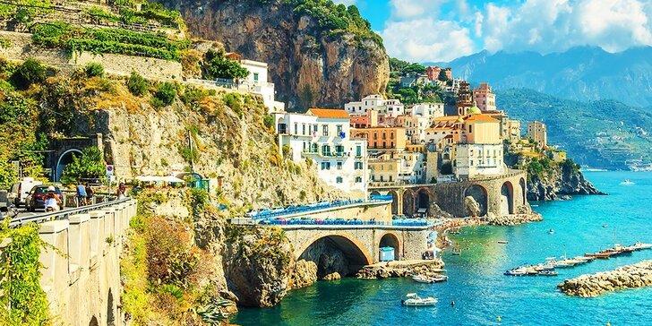 Krásy južného Talianska, 5-dňový poznávací zájazd do Neapolu, Pompejí, na Vezuv, a Ostrov Capri