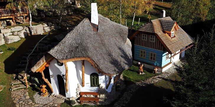 Pohodový pobyt v krásnej prírode u Svratky a s návštevou Rozprávkovej dedinky