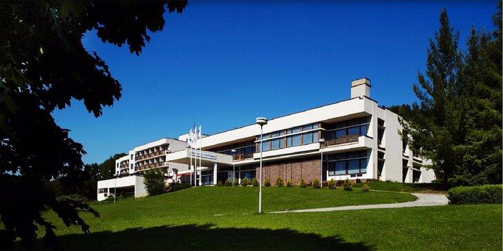 Letná dovolenka v jedinečných kúpeľoch Luhačovice na Morave s polpenziou a procedúrami, deti do 3 rokov zdarma, do 12 rokov výrazne zvýhodnená cena pobytu!