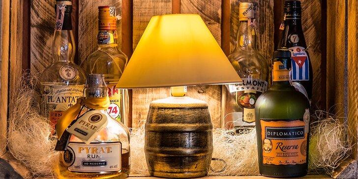 Degustácia rumov pre všetkých rumšmekerov! Ochutnajte svet!